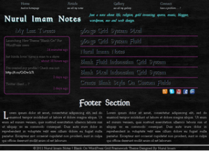 Indo Blank On WordPress Theme