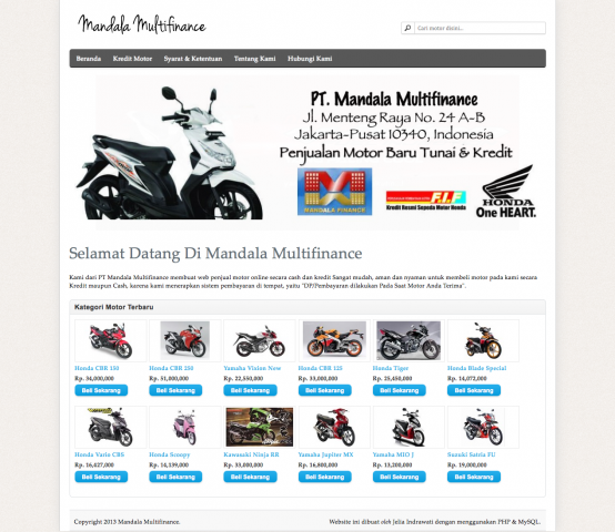 Mandala Multifinance 2013