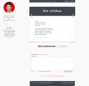 Small Quote WordPress Theme