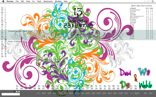 Desktop Mac Os X September