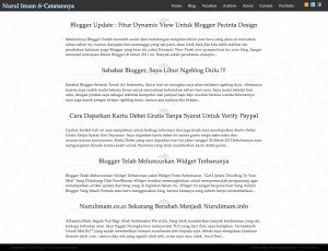 Simple Notes Blogger Template